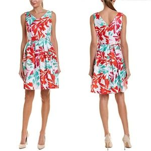 Tahari | Floral Fit and Flare Dress